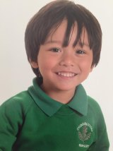Seven-year-old Julian Cadman is missing in Barcelona after Friday morning's terror attacks, his family say.