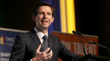Education Minister Simon Birmingham is questioning whether universities spend taxpayers money responsibly.