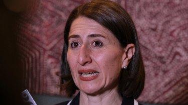 NSW Treasurer Gladys Berejiklian is the favourite to take over as Treasurer.