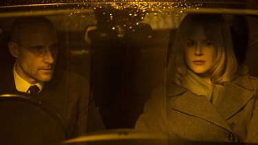 Mark Strong and Nicole Kidman in