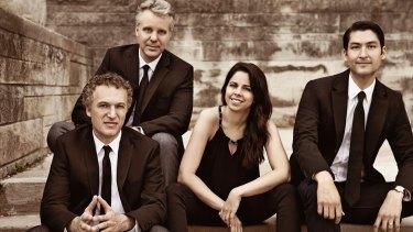 The Pacifica Quartet.