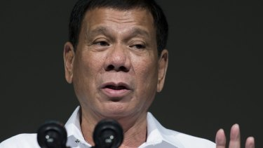 Rodrigo Duterte has taken a hard-line in journalists.