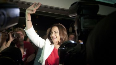 Is Premier Annastacia Palaszczuk entering electioneering mode?