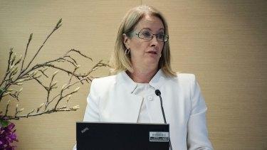 Former sex discrimination commissioner Liz Broderick.