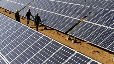 Adani says any Australian solar venture would operate alongside its giant Queensland coal project.