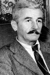 American novelist William Faulkner