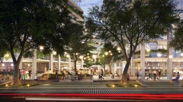 The proposed development designed by Koichi Takada Architects.