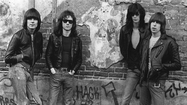 Rock and roll icons, The Ramones.