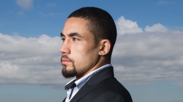 Sky's the limit: Robert Whittaker believes his next fight should be for the UFC Middleweight title.