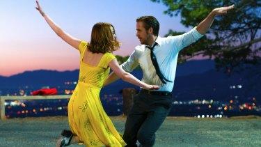 Ryan Gosling and Emma Stone in summer favourite La La Land.