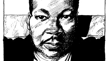 Martin Luther King believed non-violence was a powerful and just weapon.