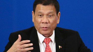 Philippines president Rodrigo Duterte is a controversial strongman.