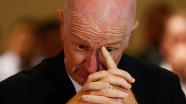 RBA governor Glenn Stevens admitted he didn't know where the interest rate might be in a year's time.