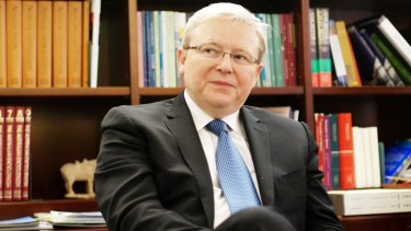 Former Australian prime minister Kevin Rudd has warned US President Donald Trump to err away from Twitter diplomacy when dealing with China.