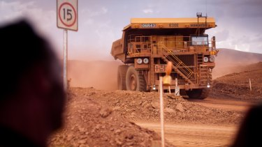 Iron ore will average $US45 a tonne in 2016, the Department of Industry reckons.