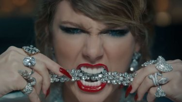 The music video takes aim at a number of Swift's nemeses.