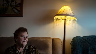 'Like yesterday': Yelena Gorodetsky (nee Kurchinsky) in her Melbourne home.