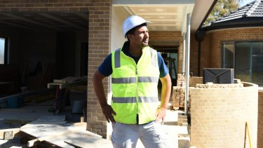 Allen Cetinic found a gap in the tradie services market.