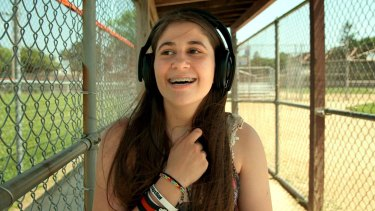 One Direction fan Elif in a scene from the documentary <I>I Used to Be Normal</I>.