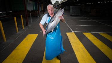 Wayne Chitty from Happy Tuna Seafoods does not want the market's operating hours to be extended.