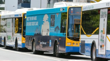 Public transport advocates want advertising wraps to be removed from Brisbane buses and CityCats.