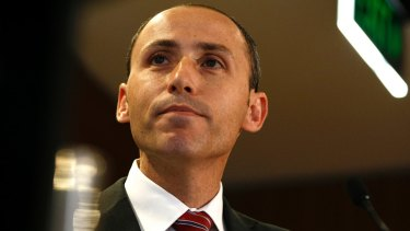 Former Labor minister David Bradbury now works for the OECD's tax team.