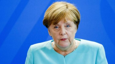 German Chancellor Angela Merkel responds to Brexit.
