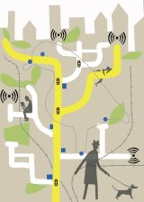 Telstra will spend $100 million setting up Wi-Fi hotspots across Australia.
