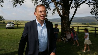 """Strong on rhetoric but light on detail: Prime Minister Tony Abbott emphasised his desire to be """"tough"""" on his YouTube channel."""
