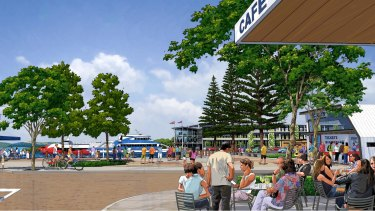 Cleveland's Toondah Harbour is set to get a new ferry terminal, apartments, and waterfront shopping.