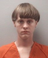 This April photo released by the Lexington County Detention Centre shows alleged gunman Dylann Roof, 21.