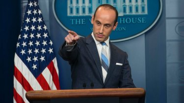 Stephen Miller's face may not be familiar yet but his words would be.