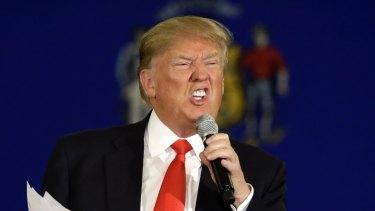 Republican circus: Presidential candidate Donald Trump.