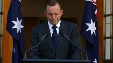 Tony Abbott:  'Australians have every justification for pride'.