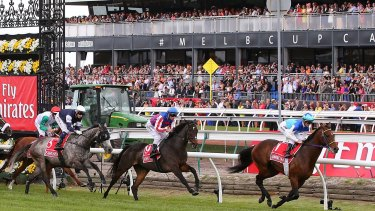 Seven West Media is first past the post, launching  Australia's first permanent MPEG-4 digital TV channel in conjunction with Racing Victoria.