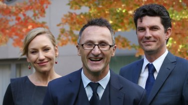 Greens leader Richard Di Natala must now confront party's leftist faction.