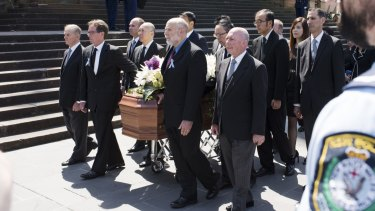 Funeral service for NSW Police employee Curtis Cheng, murdered outside Police Headquarters in Parramatta.