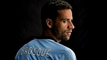 Fine form: Sky Blues skipper Alex Brosque.