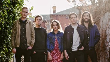 Mellow tones: The Paper Kites.