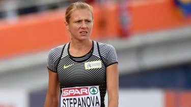 Fears for her safety: Russian doping whistleblower Yuliya Stepanova.