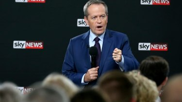 Bill Shorten has been far more effective than the Coalition at turning the volume of Labor's campaign up and down