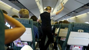 The fight attendant admitted to taking two beers from the flight.