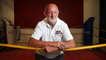 A life in the gym: Legendary trainer Johnny Lewis.