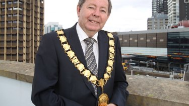 Parramatta lord mayor Paul Garrard does not want the museum to be moved to the banks of the Parramatta River.