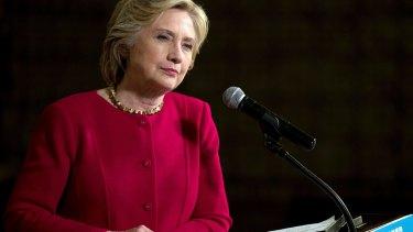 Hillary Clinton branded Trump 'horrific'.