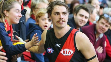 Hot property: Joe Daniher and Essendon look set for a long relationship.