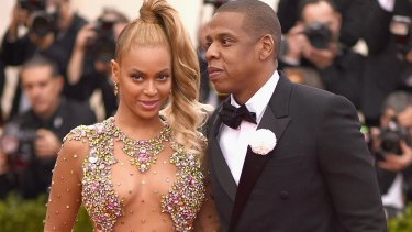 Starting their own revolution: Beyonce and Jay-Z pictured here at the Met Gala in New York on May 4.