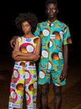 Models in the latest Yevu collection, released this week.