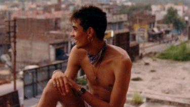 Adam Lal in India just before he died, in August 1988.
