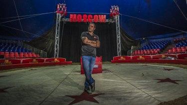 Brazilian-born Great Moscow Circus frontman Rafael Nino jnr, aka Nino the Clown, is a sixth-generation circus performer.